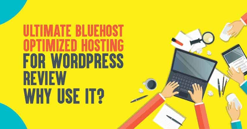 Bluehost optimized wordpress hosting review