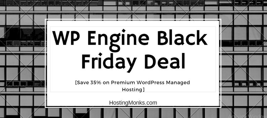 wp engine black friday 2019 deal