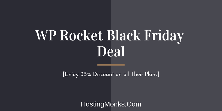 wp rocket black friday deal