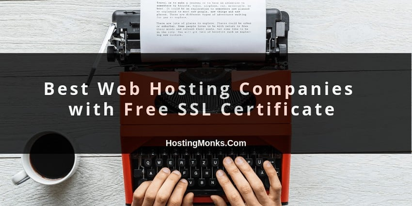 best web hosting companies with free SSL certificate