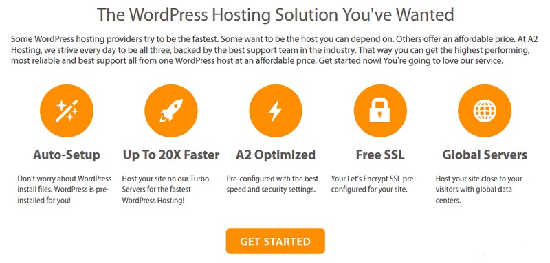 a2 hosting services