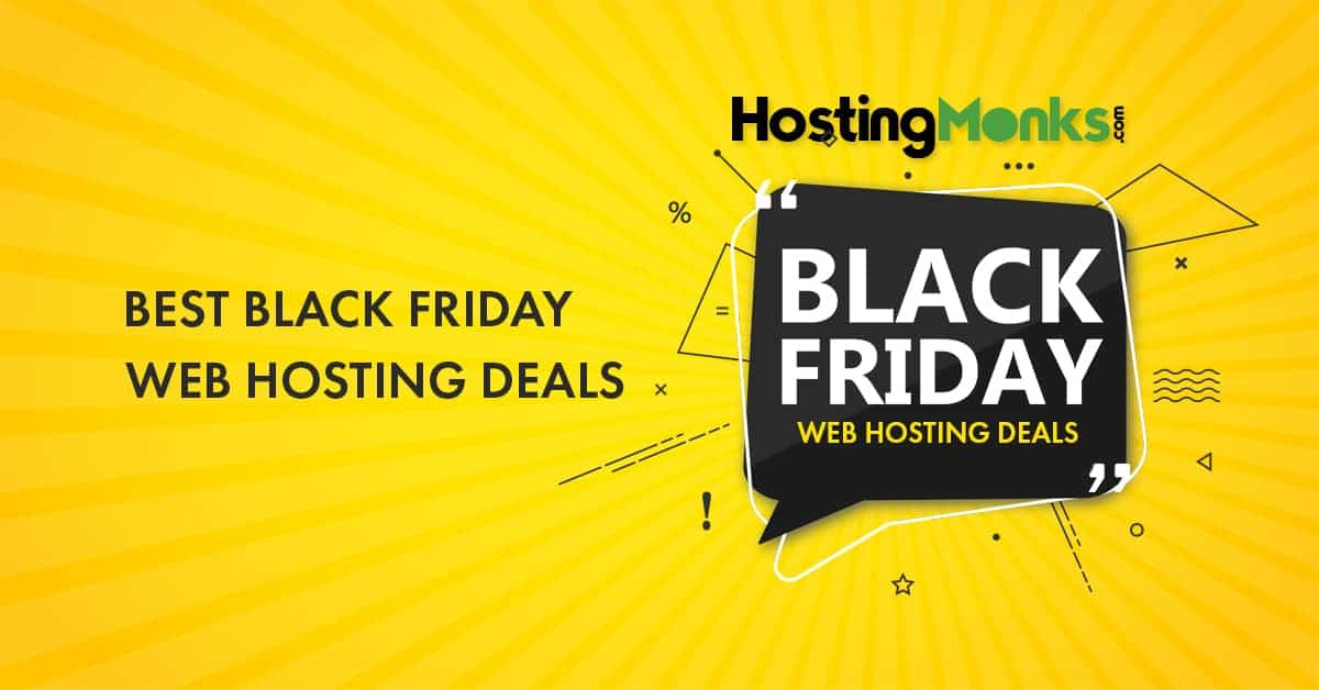 Best black Friday web hosting deals 2019