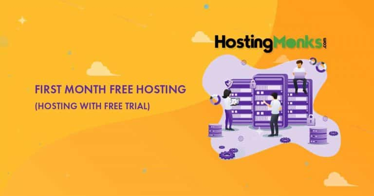 First Month Free Hosting [Get Your First Month at No Cost]