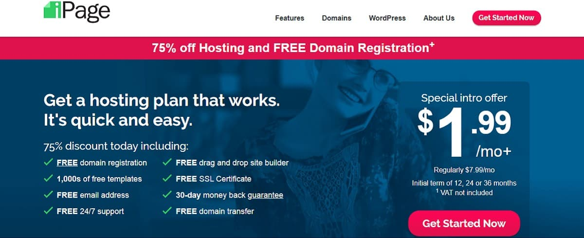 ipage hosting deals
