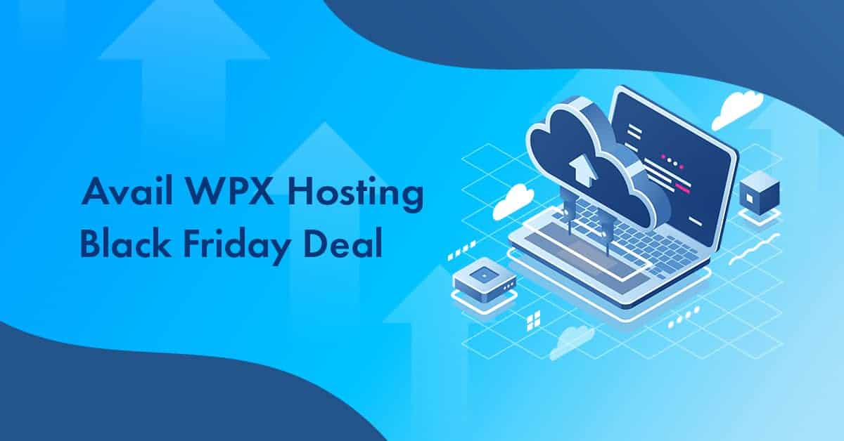 WPX Hosting black Friday
