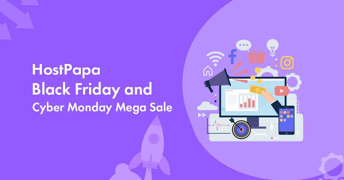 hostpapa black Friday 2020 deal