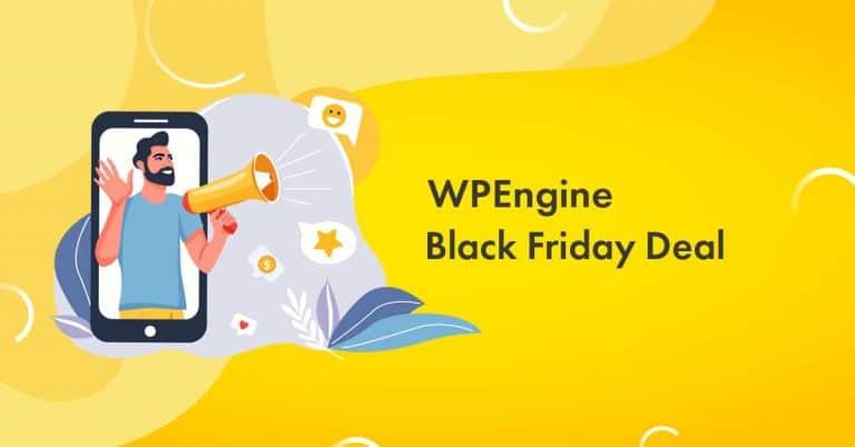 WPEngine Black Friday 2020 Deal: Get 5 Months Free Hosting [Live Now]