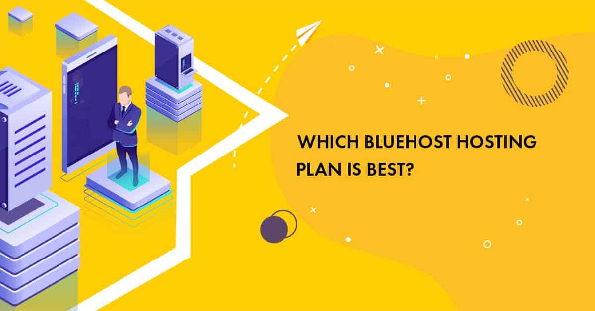 bluehost shared hosting plans to choose from