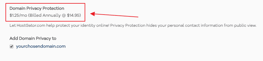 domain privacy