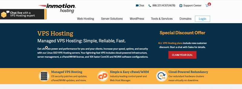 inmotion hosting cloud
