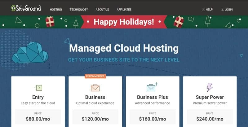 siteground cloud hosting