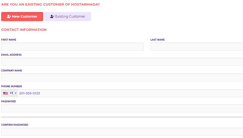 hostarmada customer contact information