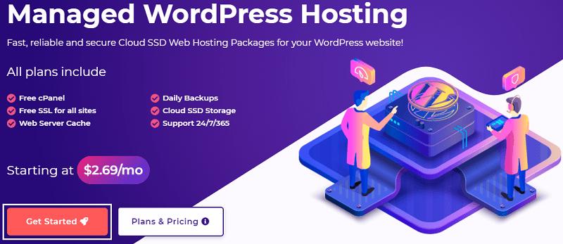 hostarmada wordpress hosting