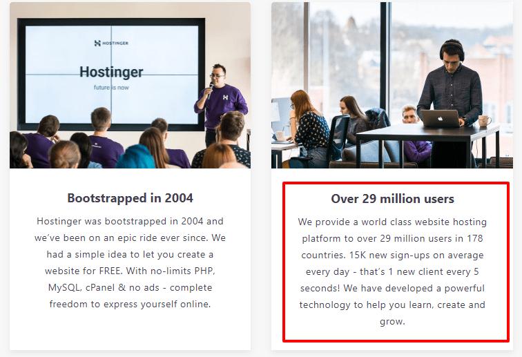 about hostinger