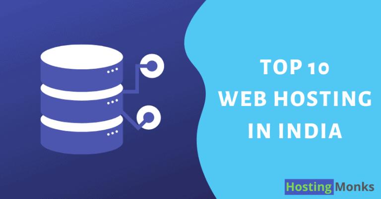 best web hosting in india