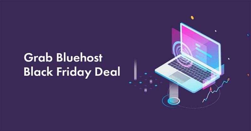 bluehost black Friday deal 2021