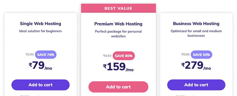 hostinger pricing after discount