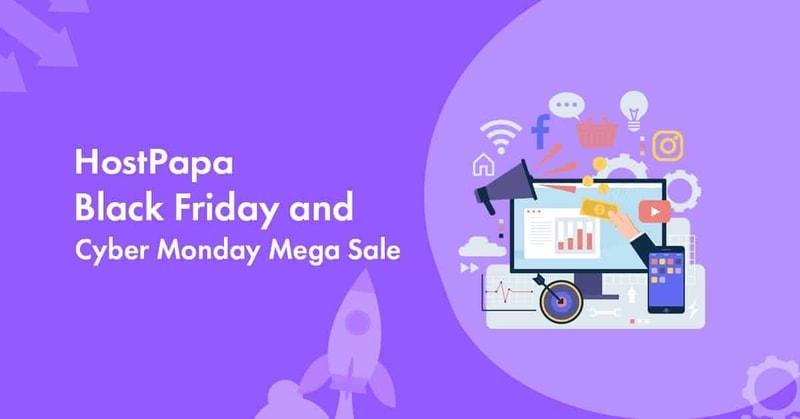 hostpapa black Friday sale 2021