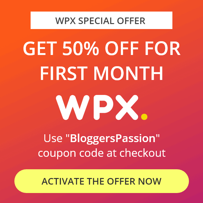 WPX promo
