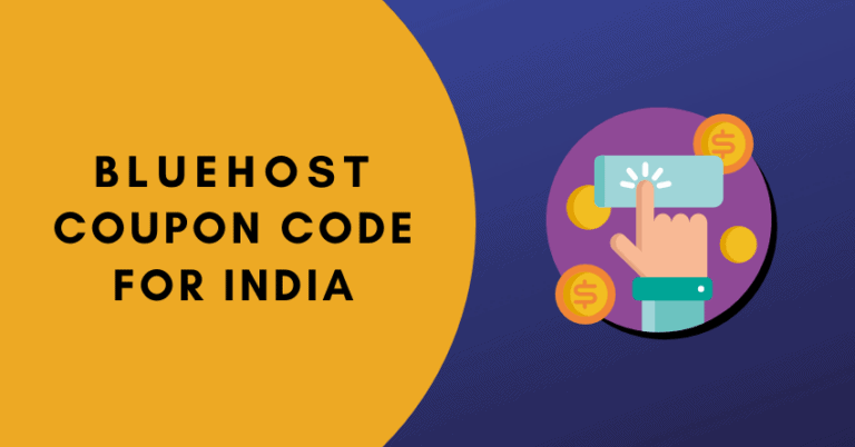 bluehost coupon code for india