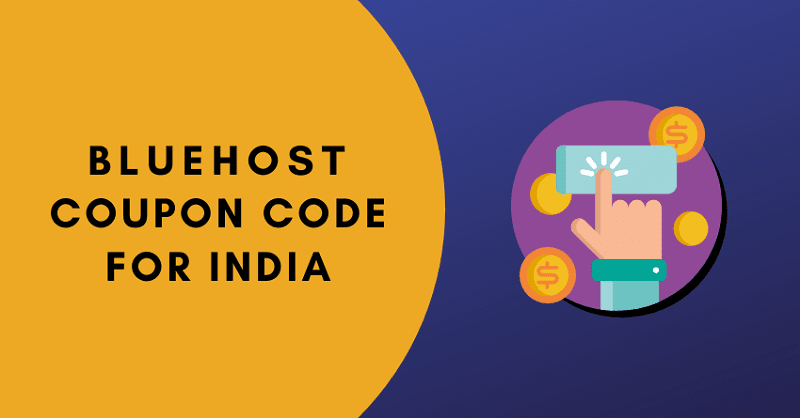 bluehost coupon code for india banner