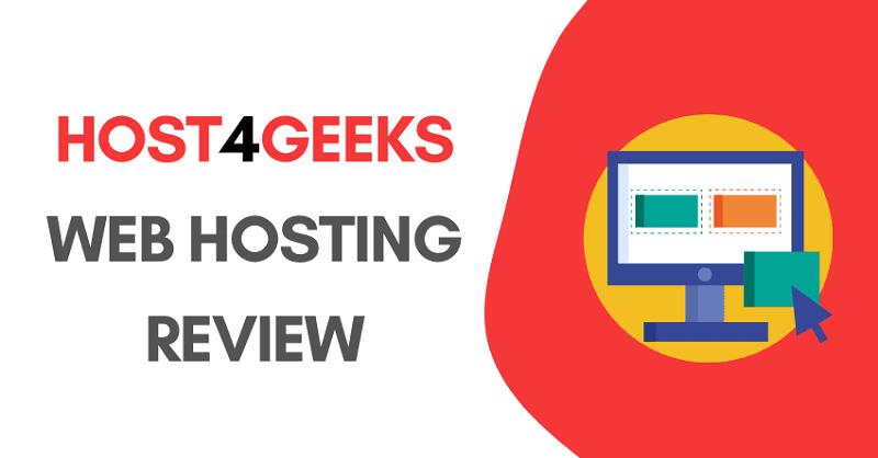 host4geeks web hosting review
