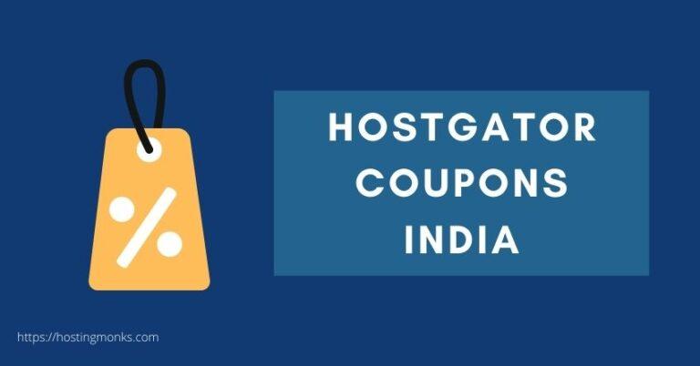 hostgator coupon india