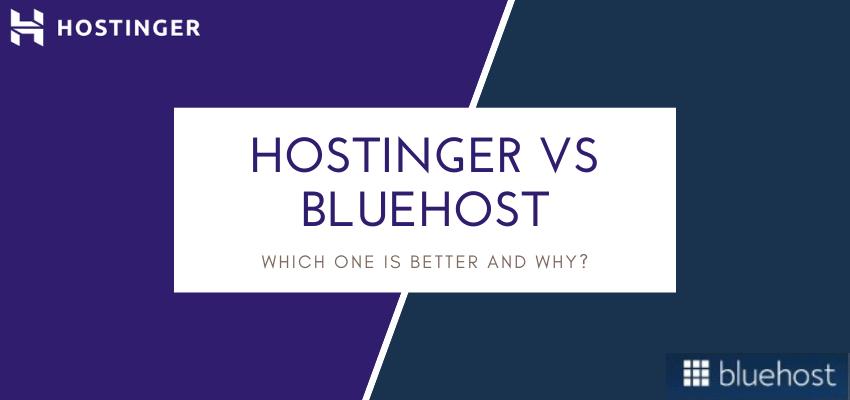 Hostinger Vs Bluehost