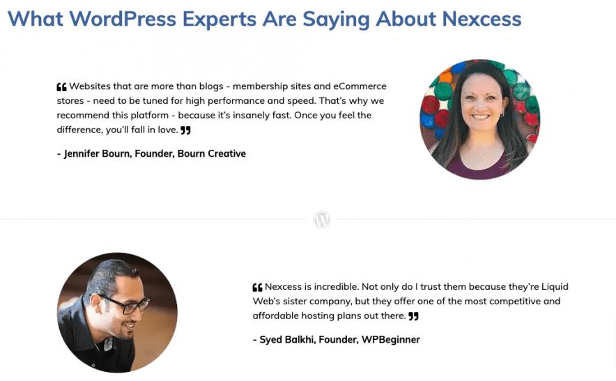 nexcess reviews experts