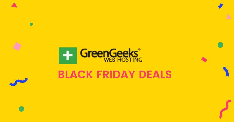 greengeeks black friday deals 2021